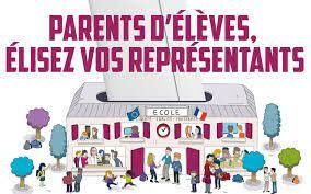 Votez nombreux pour l'élection de les représentants des parents d'élèves.